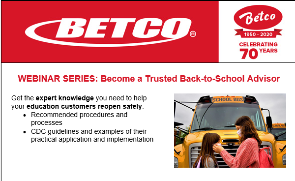 Betco Back to School